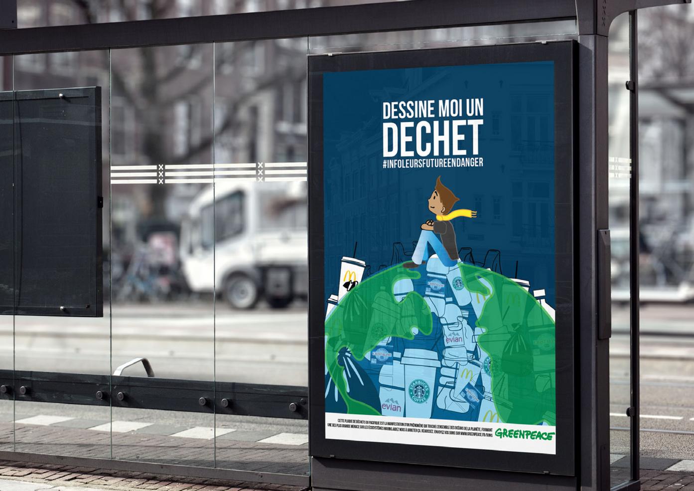 Mock up Ecologie Affiche publicitaireFrédéric Nizard