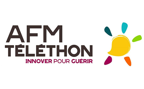 AFM Téléthon Logo Association Frédéric Nizard