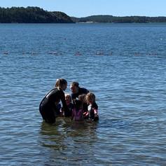 Simundervisning i vattnet