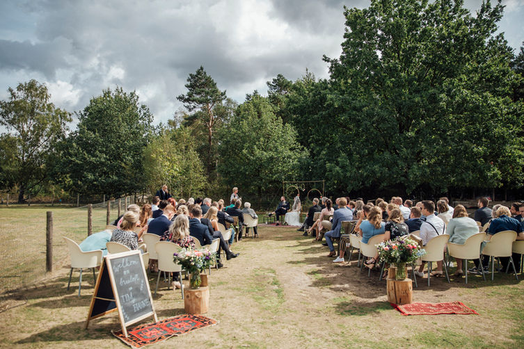 Ceremonie, Veluwe, Lianne Snoek Fotografie