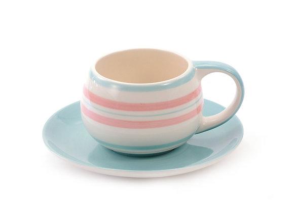 Tasse et sous-tasse Soleya