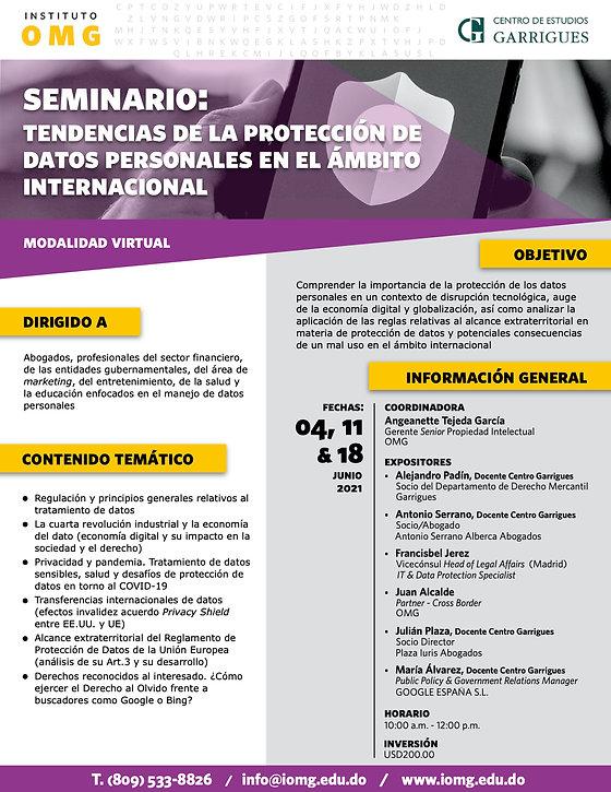 Seminario IOMG y  Centro de Estudios Gar