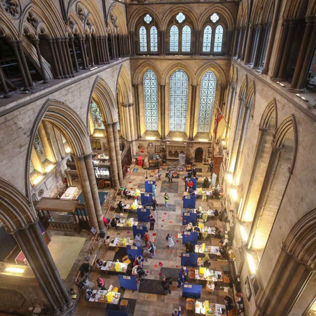 SALISBURY CATHEDRAL LEADS FIGHT AGAINST COVID