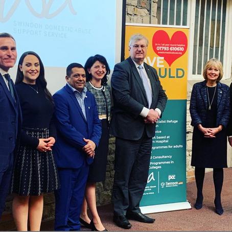 Launch of Swindon Women's Aid