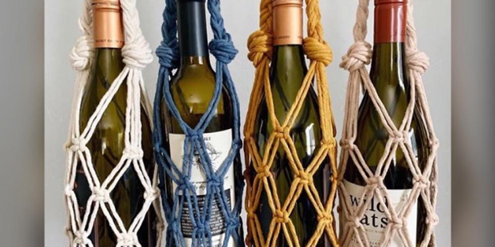 Macrame Wine Holder