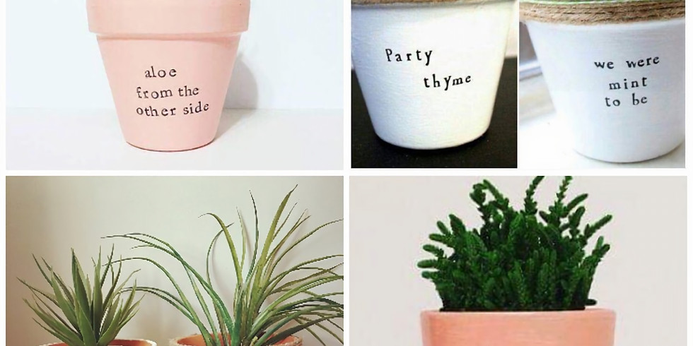 Cheeky Pots Crafternoon