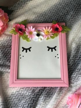 Sleepy Fairy Frame