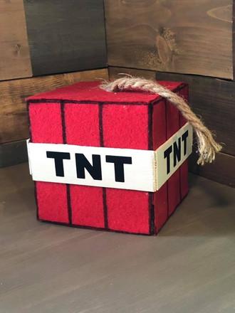 Minecraft TNT Foam Block