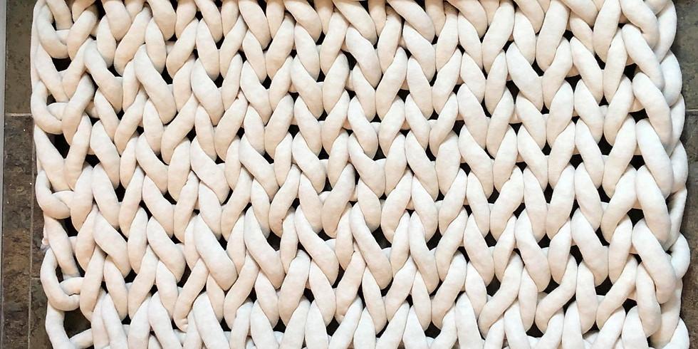 Chunky Bathmat/ Blanket Workshop