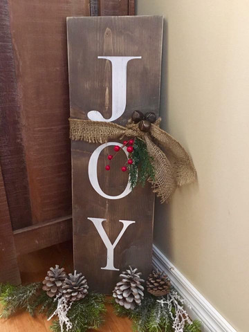 Rustic Joy sign