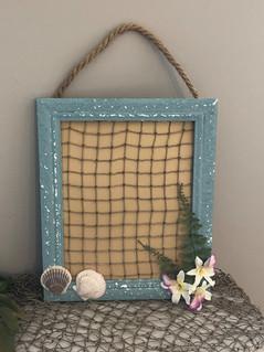 Beachy Jewelry Hanger - Photo Frame