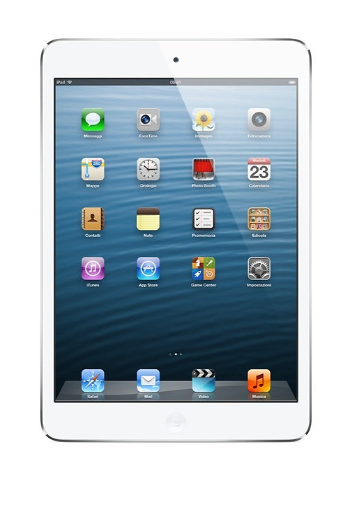 Apple iPad Mini Tablet, Colore Bianco e Argento