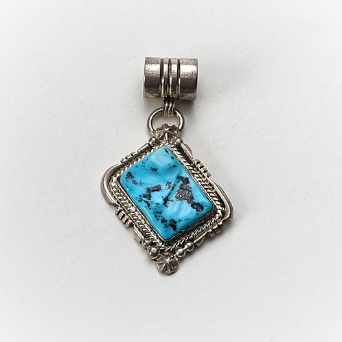 Pendent Silver & Turquoise