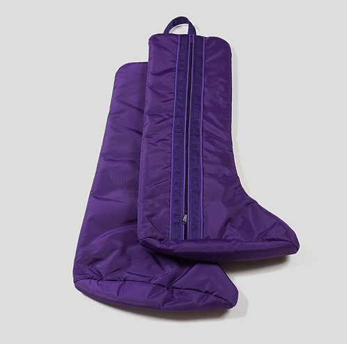Tall english boot bag