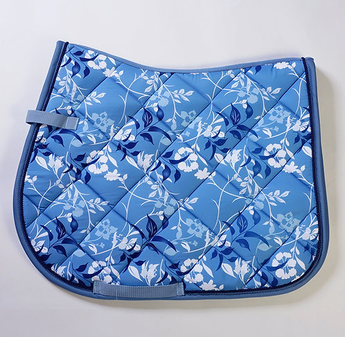HKM Floral Saddle Pad