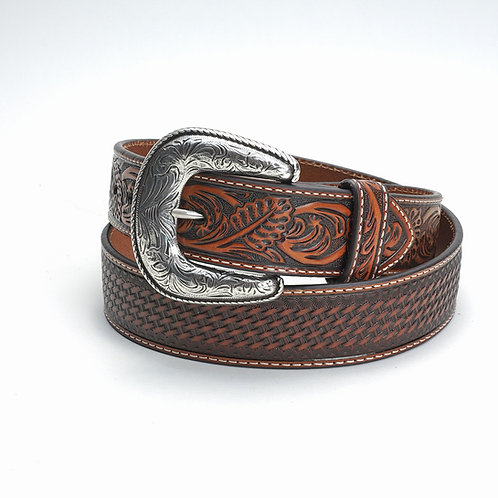 Ariat Belt Brown w/Basketweave