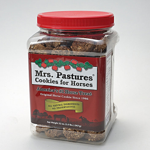 Mrs. Pastures Cookies for horses 32 oz.