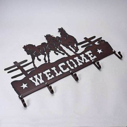 """""""Welcome"""" Coat rack"""