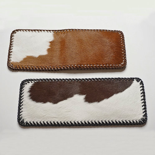 Cowhair & Leather Wallet