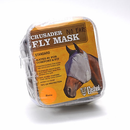 Crusader Fly Mask no ears