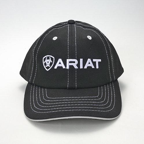 Ariat hat, black