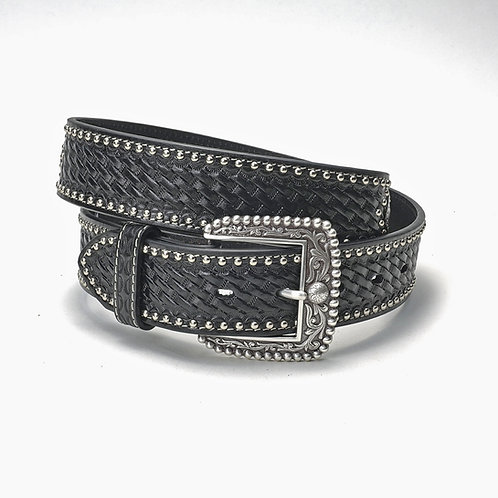 Ariat Belt - Black / Basketweave
