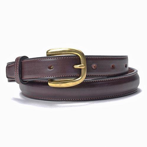 Smooth Leather Belt, Black or Brown