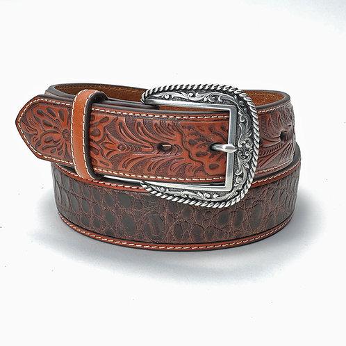 Ariat Belt- Brown / Exotic