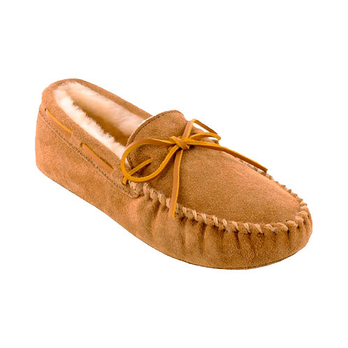 Minnetonka Sheepskin, Golden Tan #3711