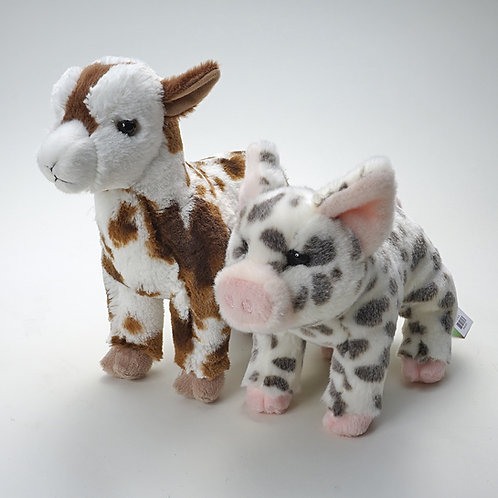 Goat, or Spotted Pig,  each