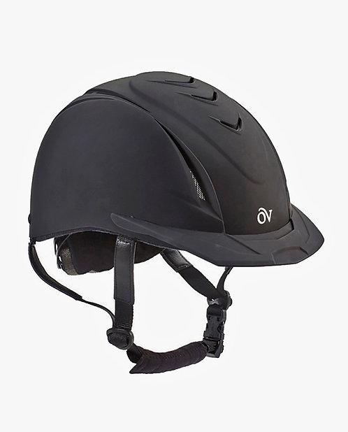"""Ovation Deluxe Schooler Helmet """"Black"""""""