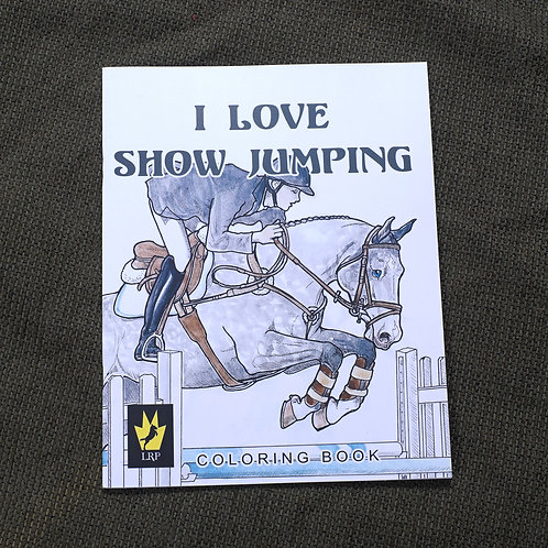 I Love Show Jumping, Coloring Book