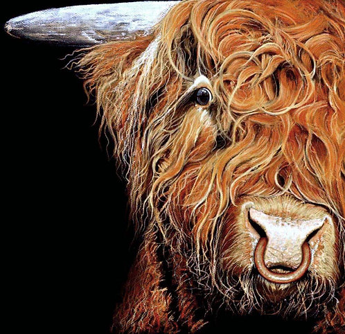 """""""Highland Beastie"""" Full Sized  Limited Edition Print"""
