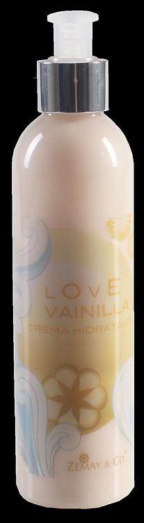 Crema hidratante Love Vainilla 250mL