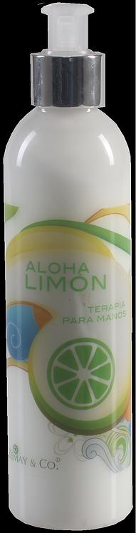 Crema hidratante para manos Aloha Limón 250mL