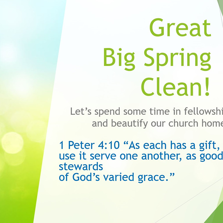 5/15 The Big Spring Clean: The Purge