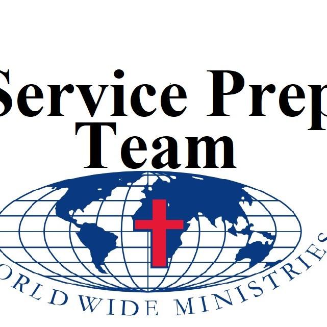 5/29/2021 Service Prep Team