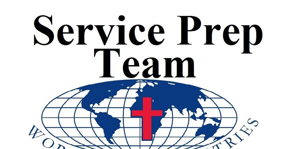5/15/2021 Service Prep Team