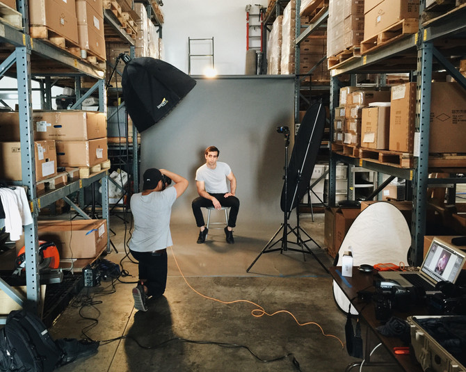 BEHIND-THE-SCENES WITH WILL WU