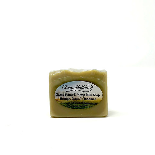 Sweet Potato & Hemp Milk Soap