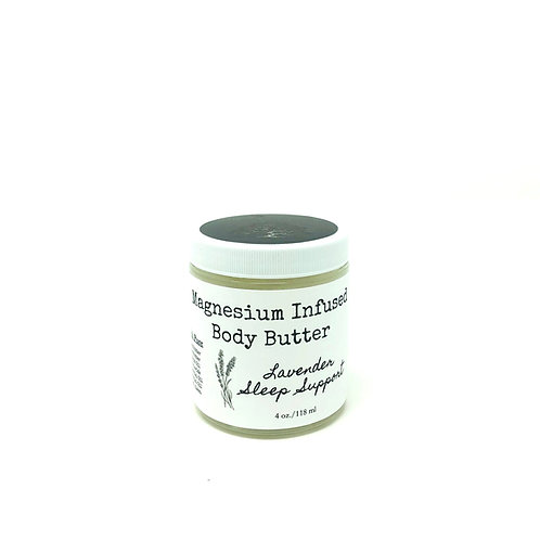 Magnesium Infused Body Butter Sleep Support