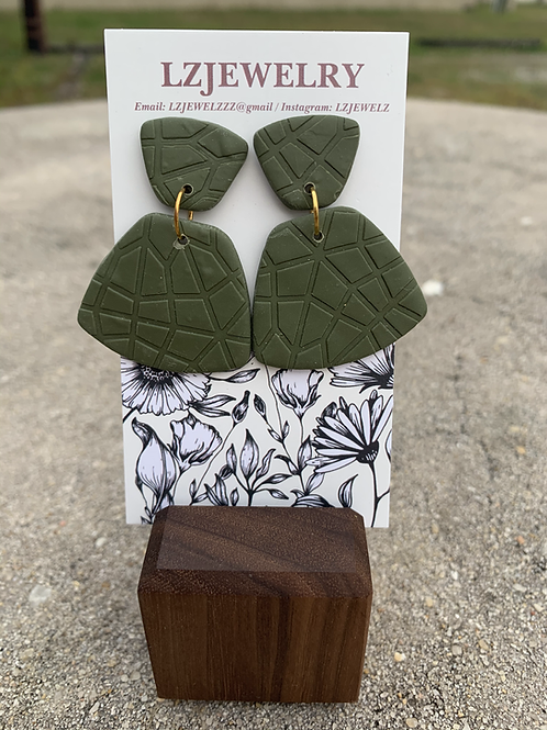 LZ Green  Earrings