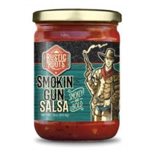 Rustic Roots Smokin Gun Style Salsa