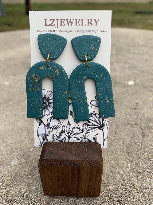 LZ Teal Earrings
