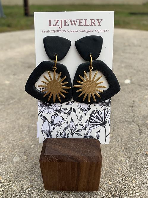 LZ Sun Earrings