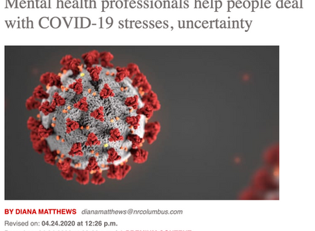 Mental health professionals help people deal with COVID-19 stresses, uncertainty