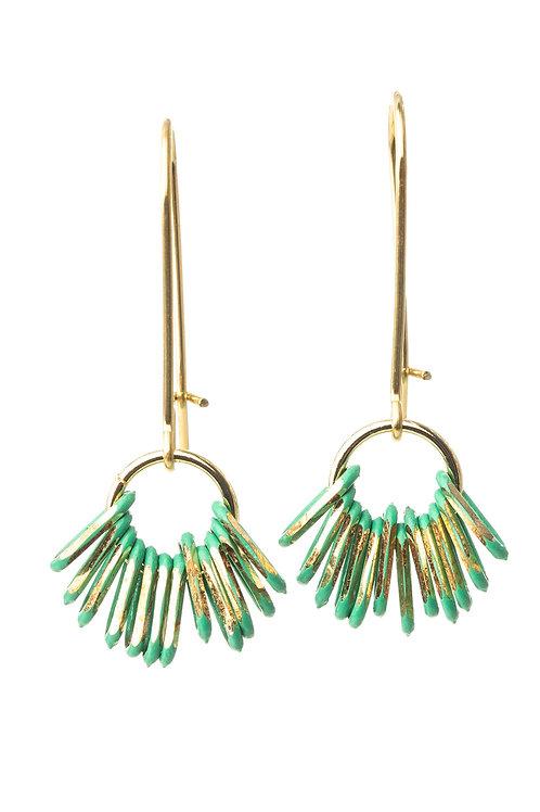 Laylin Green Earrings