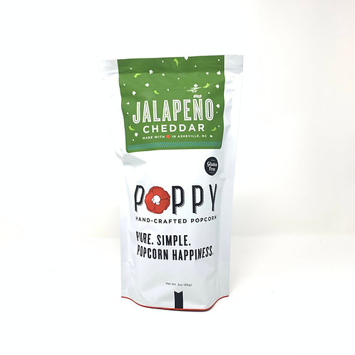 Poppy Jalapeno Cheddar Tall Bag