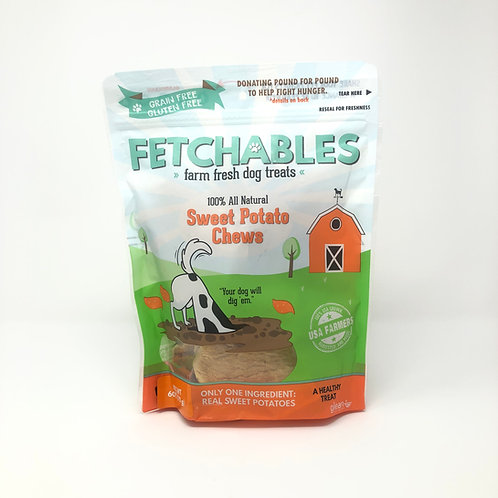 Fetchables Sweet Potato Dog Chews