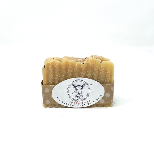 Apple Sage Goat Milk Soap